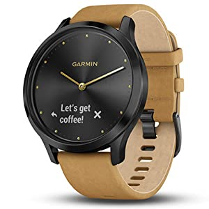 garmin vivomove HR stylish hybrid smartwatch touchscreen display watch wellness fitness men women