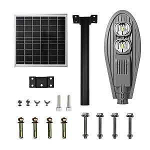 solar post lights outdoor