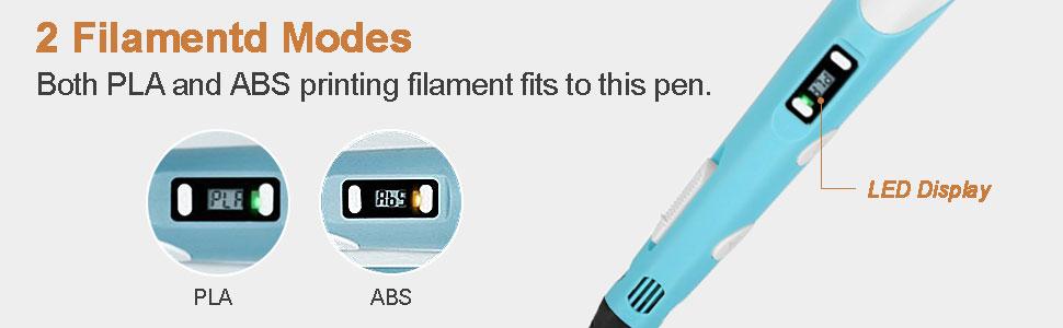 2 Filament Modes