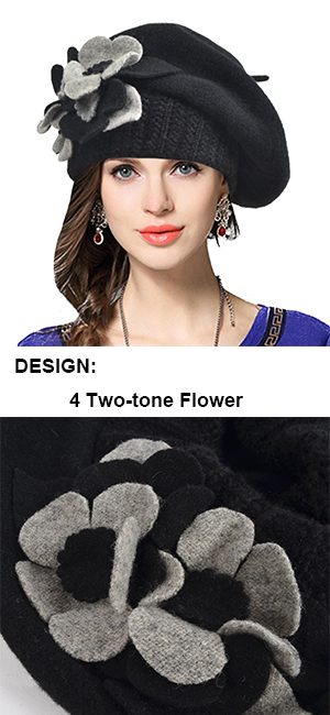 Hand with 100/% wool French Vintage Style DeerGiraffe Beret Spring Fall Winter Girl Women Hat Beret Hat for Women