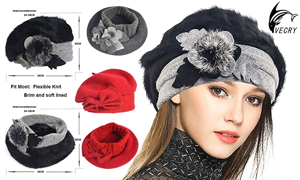 fbe127c0374c9 VECRY is here with Introducing The Highest Quality wool beret Hat   Cap
