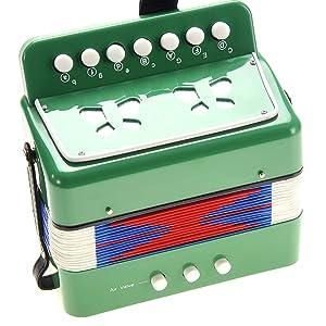 Kids accordion toy, musical instrument children,