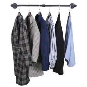 balck iron cloth hanging rack
