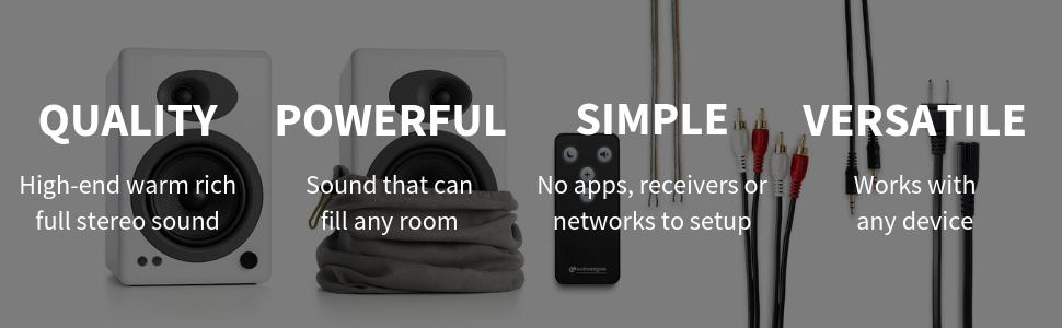 Audiophile speakers, bamboo speaker, a5 plus, audioengine a5, audioengine 5, bookshelf powered, best