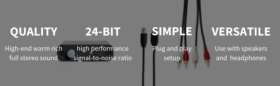 d1 audioengine, audioengine, d1 headphone amp, digital to analog converter audio, bits audio, audio