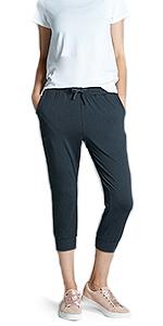 Amazon.com: TSLA Yoga Pants Mid-Waist/High-Waist Tummy ...