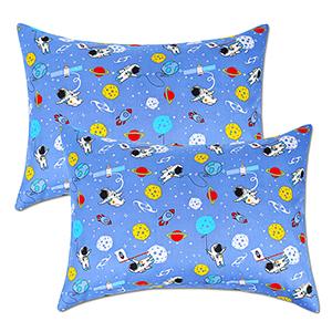 Astronauts Printings Blue Set of 2