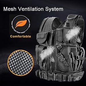 breathable Mesh Ventilation System