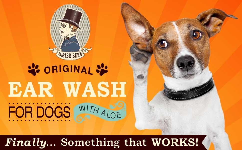 Amazon.com: Perro Wash – Votado la mejor Oreja Solución de ...