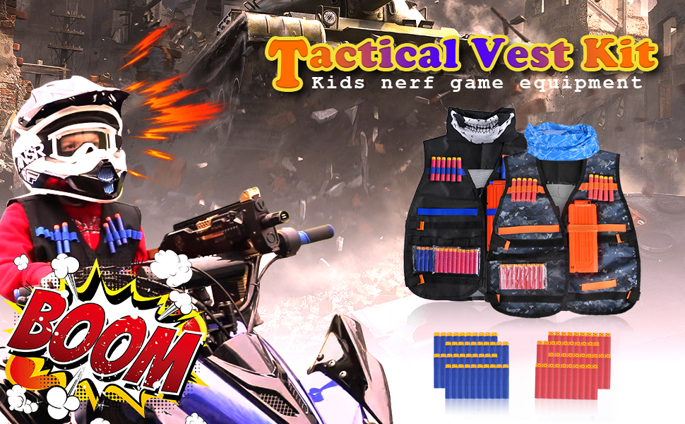 Amazon.com: Meland Kids - Juego de chaleco táctico para ...