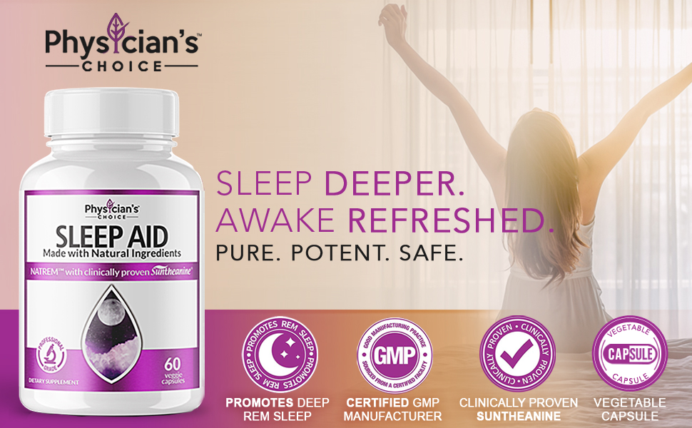 NatREM's award winning and clinically proven ingredients.