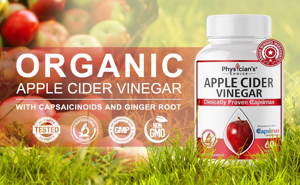 Amazon.com: Organic Apple Cider Vinegar Capsules: Award