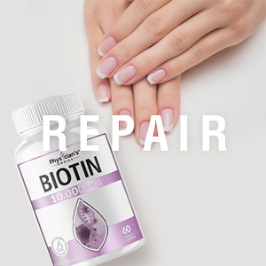 Pure Biotin 10000mcg [High Potency]