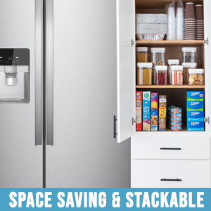 Storage container kitchen are dishwasher safe for hassle free clean up
