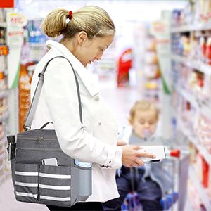 organizer bag with shoulder strap