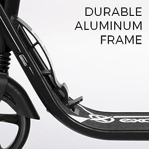 Durable Aluminum Frame