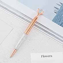 rose gold pen