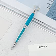 Light blue diamond pen