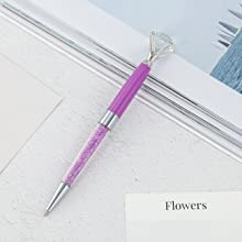 purple diamond pen