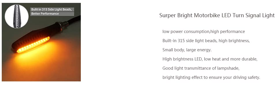 Amazon.com: Justech - 4 luces LED de intermitente para ...