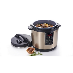 Amazon.com: Fagor LUX Multi-Cooker, 4 Quart, Olla a Presión ...