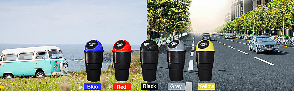 small cup holder trash mini car trash can for cup holder garbage can for a minivan car door garbage