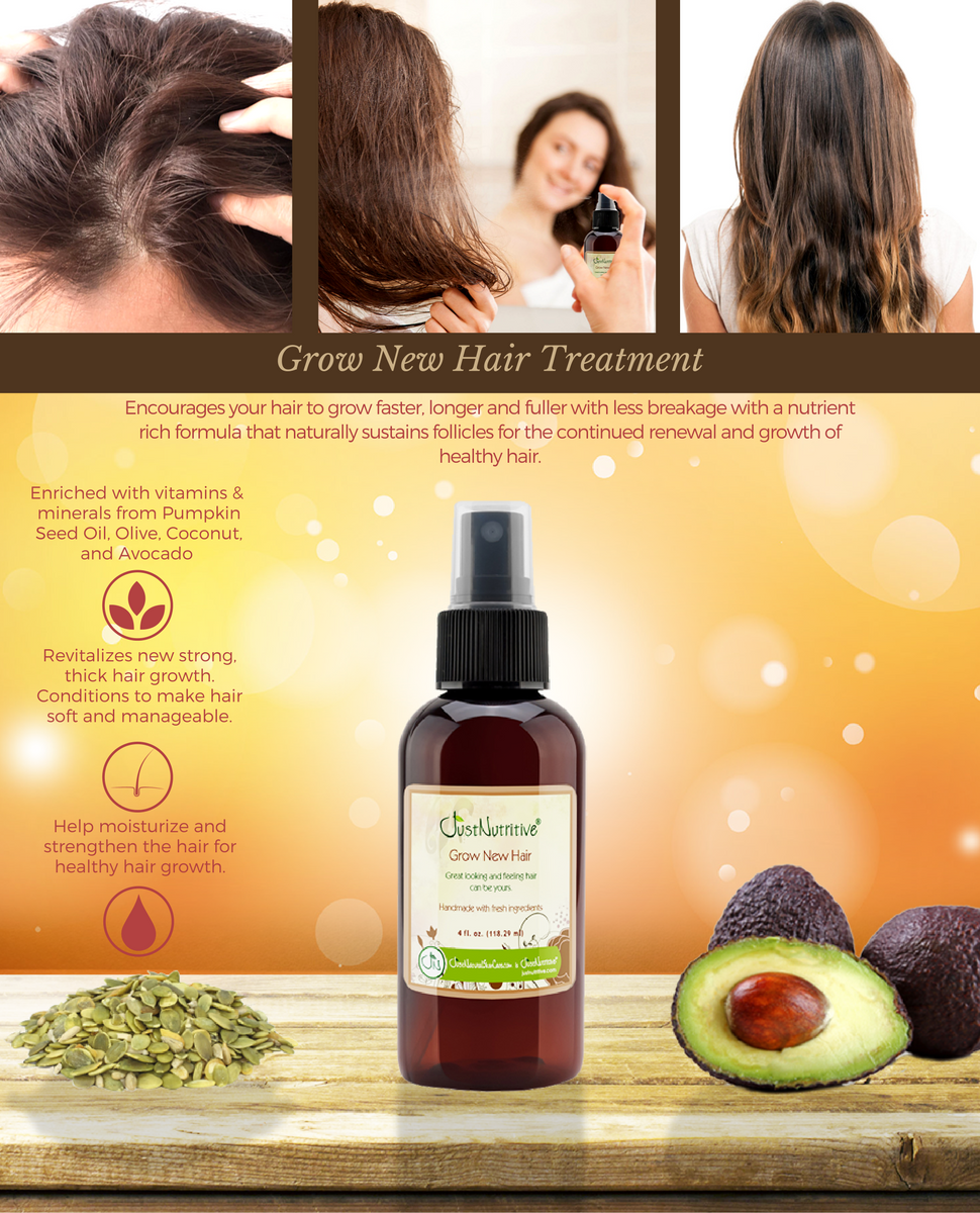 Natural Products To Grow Thinning Hair