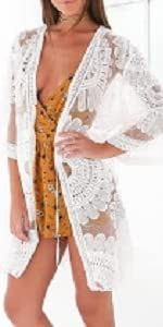 Lace Cardigan Cover up