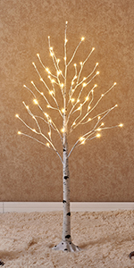 c605c149d0e1 Lighted Birch Tree 6FT 128LED · Birch Tree Lights 8FT 240LED · Prelit Birch  Tree 4FT 72LED · Twig Lights 32in 100LED Battery Operated 2Pack ...