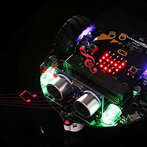 robot led light