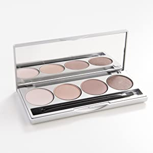 natural eye shadow palette, nude, neutral, vegan, cruelty free, gluten free, paleta, naked, morphe