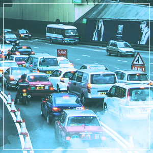 traffic exhaust VOC