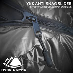 Anti-Snag Zipper