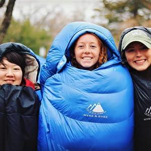 Blue Snowmass 0F Down Bag