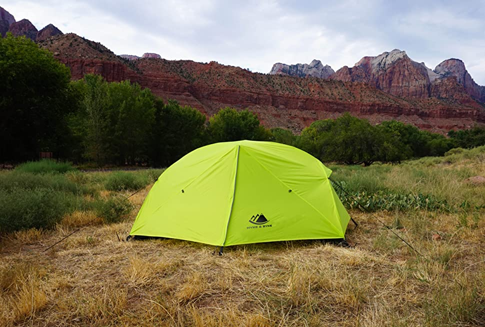 Zion 2P Backpacking Tent in Zion National Park
