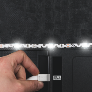 USB powered LED Bias lighting
