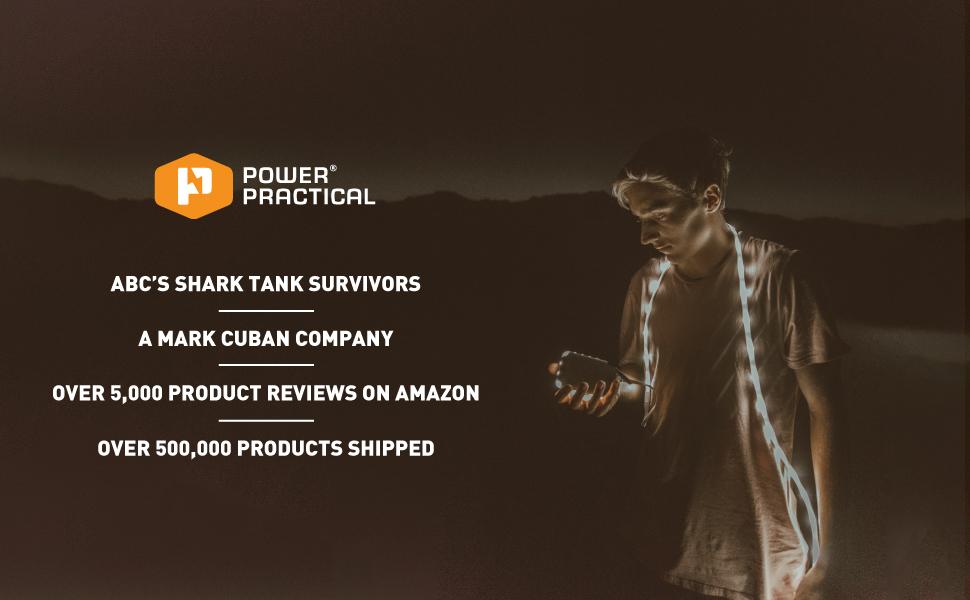 Power Practical is a shark tank company and mark cuban company