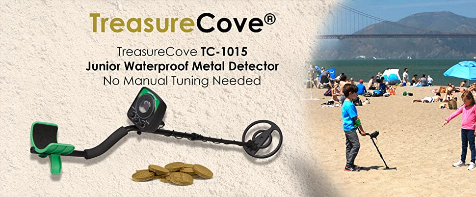 Enjoy hours on end of treasure hunting with the Treasure Cove 1015 junior metal detector! This state-of-the-art metal detector from Treasure Cove is packed ...