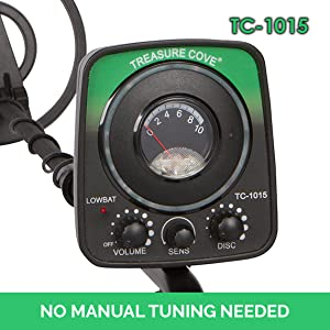 No need to hold the head portion of the detector parallel towards the ground area. With the auto-tune feature, all you need to do is to turn the unit on and ...