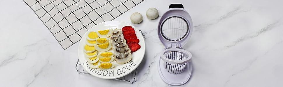 Amazon.com: Cortador de huevos con alambre de acero ...
