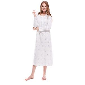 Women Nightgowns Long Sleeves K18015