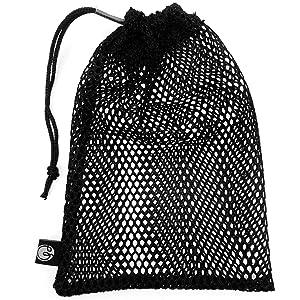mesh laundry bag for training gloves