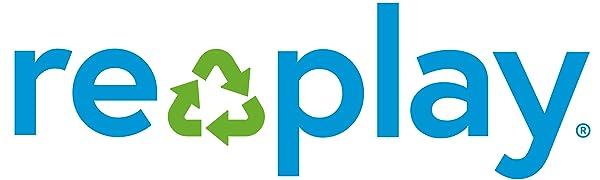 Replay; Re-play; re-play; replay; Replay recycled