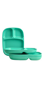 Divided tray; large divided trays; divided dinner trays; plastic tray; plastic dinner tray