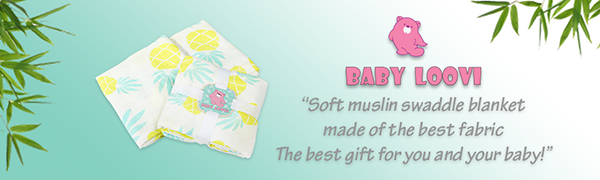 bamboo muslin swaddle blankets perfect for a gift