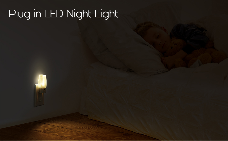 Plug in Night Light Warm White