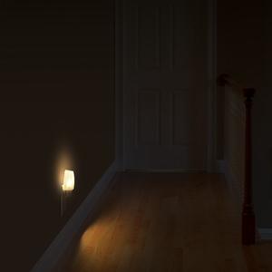 Staircase nightlight plug in