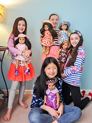 10 fixed complete clothes set for 18 Inch girl dolls