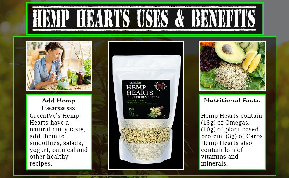 Hemp Seeds Hearts