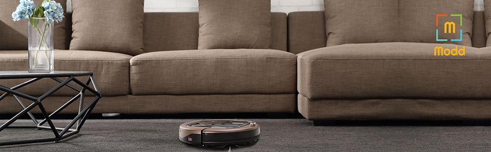 Amazon.com: Modd i360Move Robot Aspirador Potente Succión ...